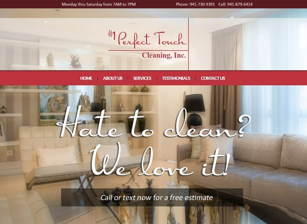 """<a target=""""_blank"""" href=""""http://1perfecttouchcleaning.com"""">1perfecttouchcleaning.com</a>"""